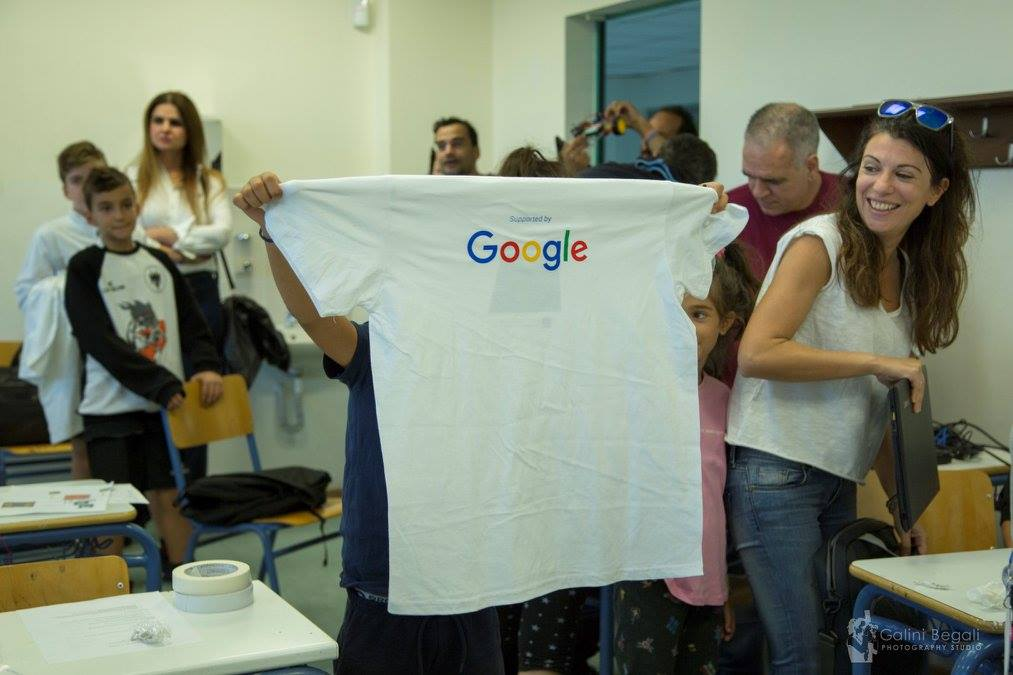 supported-by-Google-t-shirt
